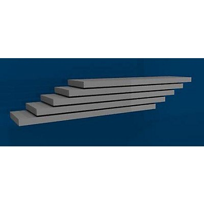 hofe Fachboden, Breite 1000 mm, VE 5 Stk - Tiefe 300 mm