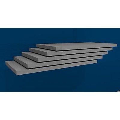 hofe Fachboden, Breite 1000 mm, VE 5 Stk - Tiefe 600 mm
