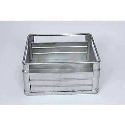 Stapelkorb für Schweres - aus Stahlblech