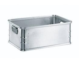 Transport- und Stapelkasten aus Aluminium - Inhalt 37 l