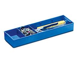 ZARGES Kunststoffeinsatz - blau, HxBxT 60 x 515 x 155 mm