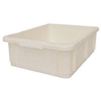 utz Stapelbehälter aus Polypropylen - Inhalt 10 l, Außenmaße LxBxH 400 x 300 x 125 mm