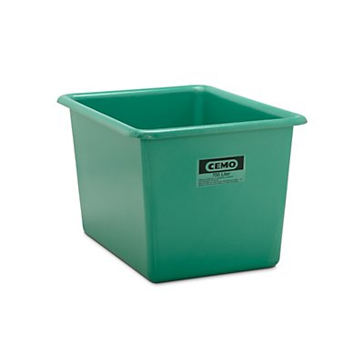 Cemo Großbehälter aus GfK - Inhalt 700 l, LxBxH 1320 x 970 x 800 mm