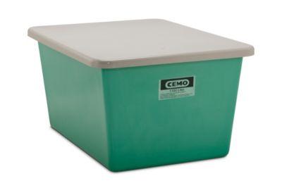 Großbehälter aus GfK - Inhalt 200 l, LxBxH 873 x 572 x 585 mm