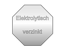 Wolf Verzinkung, elektrolytisch - für den Einsatz in Feuchträumen - Mehrpreis je Fachbreite