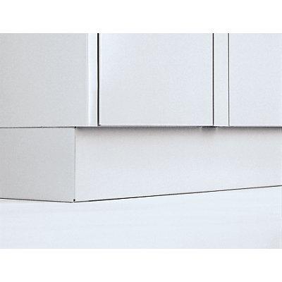 Wolf Sockel - Höhe 100 mm, für Stahlspind - Mehrpreis