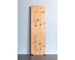 Wedeka Fachboden für Holz-Steckregal - Breite 1000 mm, gehobelt und geschliffen - Tiefe 300 mm