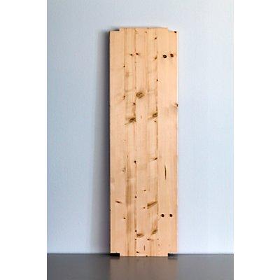 Wedeka Fachboden für Holz-Steckregal - Breite 1000 mm, zusätzlich grundiert und mattiert