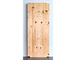 Wedeka Fachboden für Holz-Steckregal - Breite 1000 mm, gehobelt und geschliffen - Tiefe 400 mm