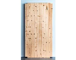 Wedeka Fachboden für Holz-Steckregal - Breite 1000 mm, gehobelt und geschliffen - Tiefe 500 mm