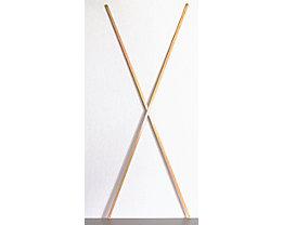 Croisillon - rayonnage emboîtable en bois massif - largeur tablettes 1000 mm