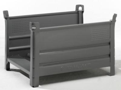 Heson Langgutgestell mit 2 Längswänden - LxB 1000 x 800 mm
