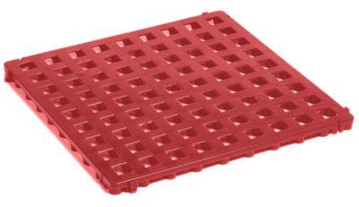 Kunststoff-Bodenrost, Polyethylen - 500 x 500 mm, Standard, VE 20 Stk