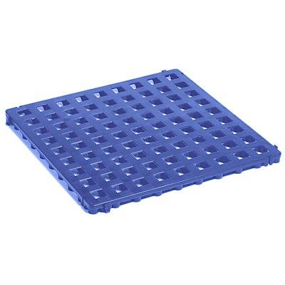 CLIPPY Kunststoff-Bodenrost, Polyethylen - 500 x 500 mm, Standard, VE 20 Stk