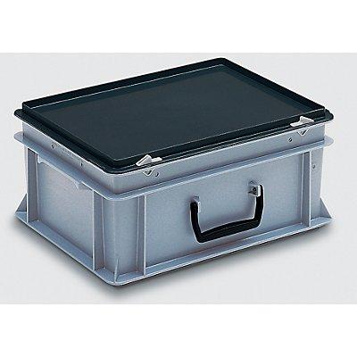 utz Mehrzweckkoffer - Inhalt 15 l, Außenmaße LxBxH 400 x 300 x 183 mm