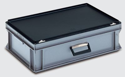 Mehrzweckkoffer - Inhalt 30 l, Außenmaß LxBxH 600 x 400 x 185 mm