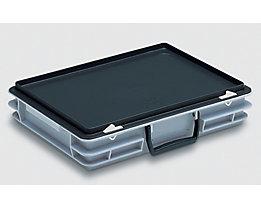 Mehrzweckkoffer - Inhalt 5 l, Außenmaß LxBxH 400 x 300 x 80 mm - ab 20 Stück