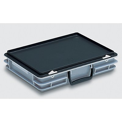 Mehrzweckkoffer - Inhalt 5 l, Außenmaß LxBxH 400 x 300 x 80 mm
