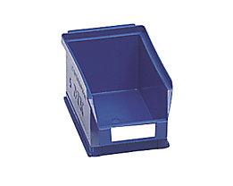 Sichtlagerkasten aus Polyethylen - Inhalt 0,8 l - blau, VE 25 Stk