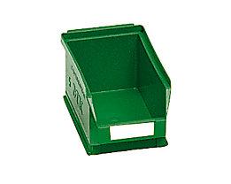 mauser Sichtlagerkasten aus Polyethylen - Inhalt 0,8 l - grün, VE 25 Stk