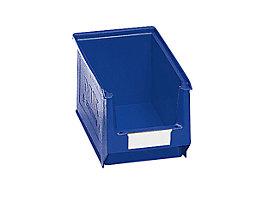 mauser Sichtlagerkasten aus Polyethylen - Inhalt 3,3 l - blau, VE 25 Stk