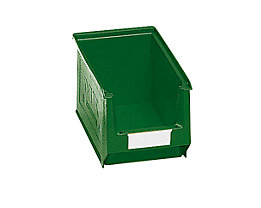 Sichtlagerkasten aus Polyethylen - Inhalt 3,3 l - grün, VE 25 Stk
