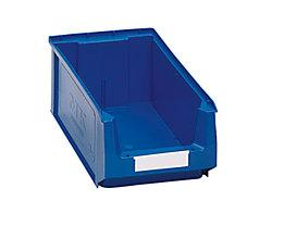 Sichtlagerkasten aus Polyethylen - Inhalt 7,46 l - blau, VE 14 Stk