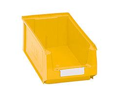 Sichtlagerkasten aus Polyethylen - Inhalt 7,46 l - gelb, VE 14 Stk