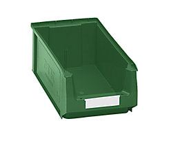 mauser Sichtlagerkasten aus Polyethylen - Inhalt 7,46 l - grün, VE 14 Stk