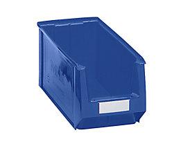 Sichtlagerkasten aus Polyethylen - Inhalt 11,25 l - blau, VE 10 Stk