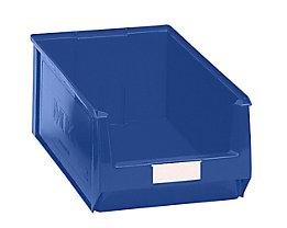 Sichtlagerkasten aus Polyethylen - Inhalt 24,65 l - blau, VE 10 Stk
