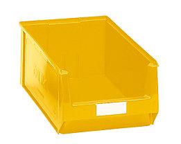 Sichtlagerkasten aus Polyethylen - Inhalt 24,65 l - gelb, VE 10 Stk