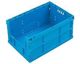 Faltbox aus Polypropylen - Inhalt 63 l, ohne Deckel