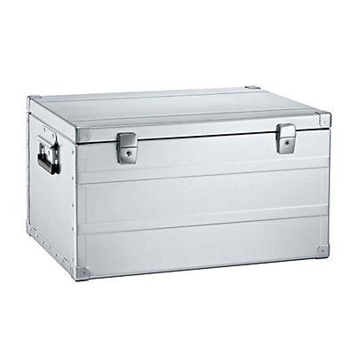 ZARGES Caisse de transport en aluminium - capacité 66 l - L x l x h 560x430x305 mm, poids 3,5 kg