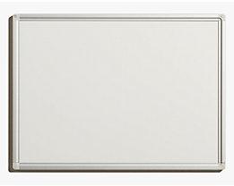 QUIPO Weißwandtafel - Rahmen eloxiert - BxH 600 x 450 mm