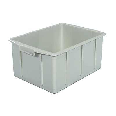 Kunststoff-Stapelbehälter - Inhalt 23 l, Außenmaße LxBxH 460 x 330 x 202 mm