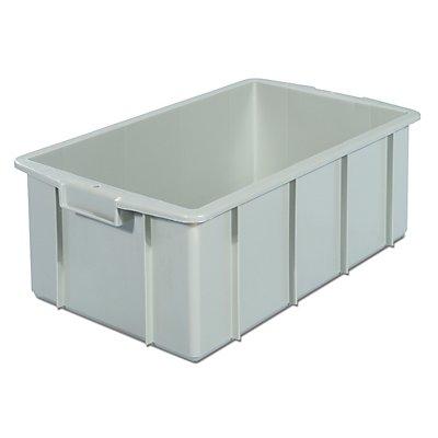 VECTURA Kunststoff-Stapelbehälter - Inhalt 35 l, Außenmaße LxBxH 600 x 355 x 210 mm