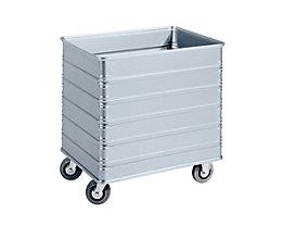 ZARGES Chariot-caisse en alu - capacité 230 l