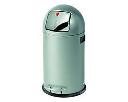 Großraum-Abfallbox KICKMAXX - Volumen 35 l - silber