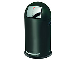 Großraum-Abfallbox KICKMAXX - Volumen 35 l - schwarz