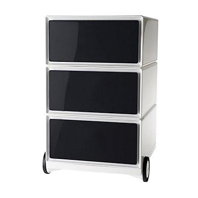 Rollcontainer aus Kunststoff - 3 Schubladen