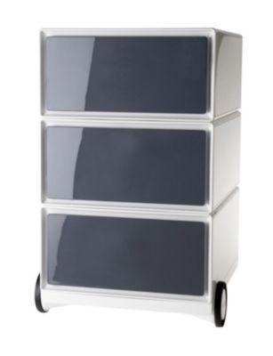 Rollcontainer kunststoff 3 schubladen  Rollcontainer Weiß Preisvergleich • Die besten Angebote online kaufen