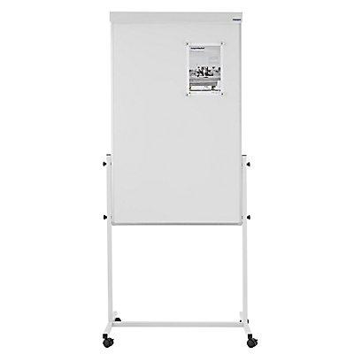 magnetoplan® Universal-Board - Tafelformat 750 x 1200 mm - Whiteboard / Filz grau