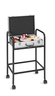 magnetoplan® Trolley für Moderationskoffer - mit 4 Rollen - schwarz