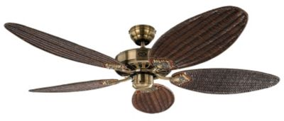 Deckenventilator CLASSIC ROYAL - oval, Rotorblatt-Ø 1320 mm