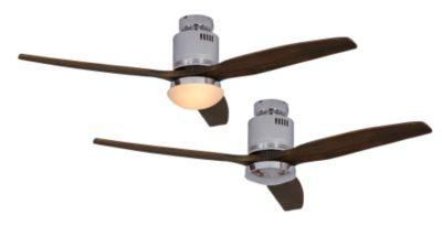 Deckenventilator AERODYNAMIX - inkl. Leuchte und Fernbedienung