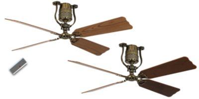 Energiespar-Deckenventilator ROADHOUSE - Rotorblatt-Ø 1520 mm