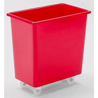 VECTURA Rechteckbehälter aus Polyethylen, fahrbar - Inhalt 135 l