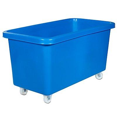 VECTURA Rechteckbehälter aus Polyethylen, fahrbar - Inhalt 450 l