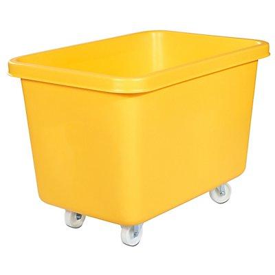 Rechteckbehälter aus Polyethylen, fahrbar - Inhalt 227 l